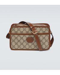 Gucci Mini-Tasche GG Supreme - Natur