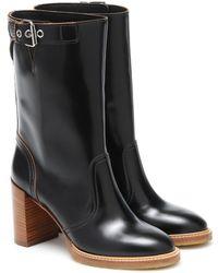 Gabriela Hearst Garrett Leather Boots - Black