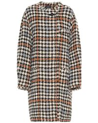 Isabel Marant - Cappotto Zaban in tweed - Lyst