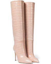 Paris Texas Stiefel aus Kalbsleder - Mehrfarbig