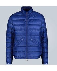 Moncler Agay Down Coat - Blue