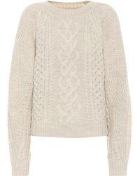 Étoile Isabel Marant Cable-knit Wool Jumper - Multicolour