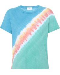 RE/DONE - Tie-dye Cotton T-shirt - Lyst