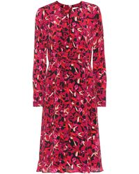 Dorothee Schumacher Exclusive To Mytheresa – Daydream Meadow Printed Midi Dress - Red
