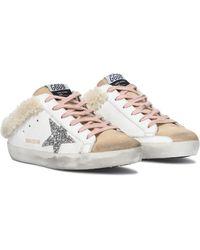 Golden Goose Deluxe Brand Sneakers Superstar aus Leder - Weiß