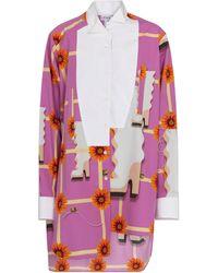 Loewe Printed Cotton Poplin Shirt - Multicolour