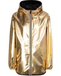 Fendi X K-Way® chaqueta reversible - Metálico