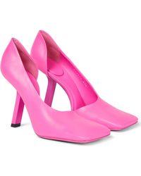 Balenciaga Pumps Void 110 aus Leder - Pink