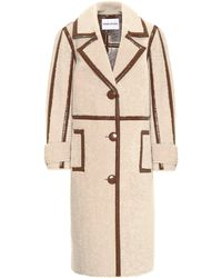 Stand Studio Kenzie Faux-shearling Coat - Natural