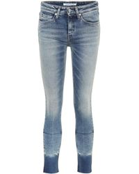 Calvin Klein Jeans - Cropped Skinny Jeans - Lyst