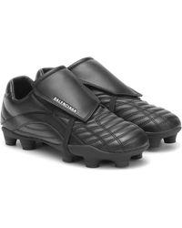 Balenciaga Sneakers Soccer - Schwarz
