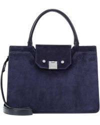 Jimmy Choo - Rebel Suede Tote - Lyst