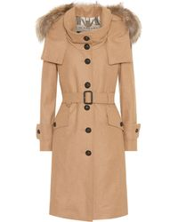 Burberry - Wool-blend Coat - Lyst