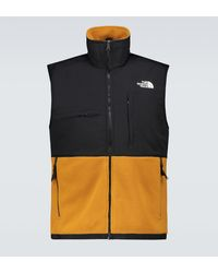 The North Face – Denali – Schwarzes Trägershirt - Braun