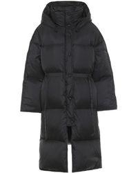 Acne Studios Ottie Down Puffer Coat - Black