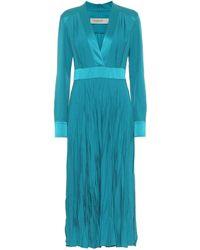 Golden Goose Deluxe Brand Adriana Midi Dress - Blue
