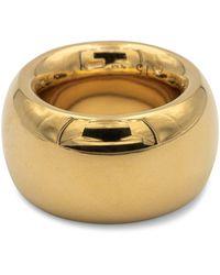 Bottega Veneta 18kt Gold-plated Sterling Silver Ring - Metallic