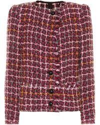 Isabel Marant Veste Zoa en tweed de laine, alpaga et mohair mélangés - Multicolore