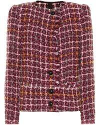 Isabel Marant Zoa Tweed Jacket - Multicolor