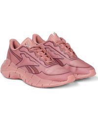 Reebok X Victoria Beckham Sneakers Zig Kenitica aus Mesh - Pink