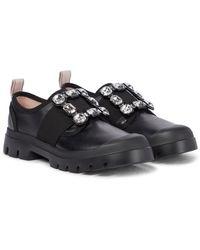 Roger Vivier Sneakers Walky Viv' in pelle - Nero