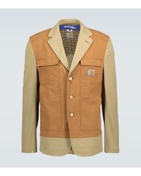 Junya Watanabe Blazer workwear MAN x Carhartt - Marron