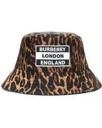 Burberry Cappello da pescatore a stampa - Multicolore