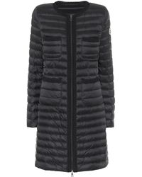 Moncler - Chartreuse Down Coat - Lyst