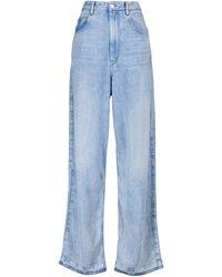 Étoile Isabel Marant High-Rise-Jeans Tilorsy - Blau