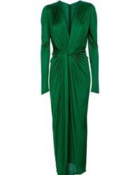 Dolce & Gabbana Midikleid aus Jersey - Grün