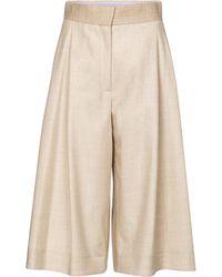 ROKSANDA Pantalones anchos Devin de lana - Neutro