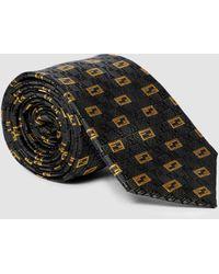 Fendi Krawatte aus Seiden-Jacquard - Grau