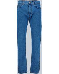 Versace Jeans mit Medusa-Detail - Blau