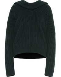 Jacquemus La Maille Ahwa Wool-blend Sweater - Green