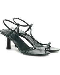 The Row Bare Leather Sandals - Multicolour