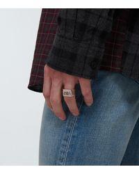 Balenciaga Ring BB - Mettallic