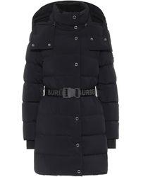 Burberry Veste doudoune à capuche - Noir