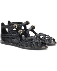 See By Chloé Katie Leather Sandals - Black