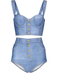 Balmain Bikini - Blau