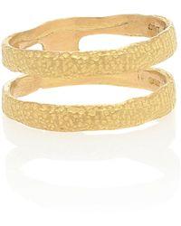 Elhanati Roxy 18kt Gold Ring - Metallic