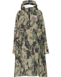 Canada Goose Field Poncho Raincoat - Green