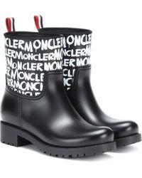 Moncler Ginette Logo Boot - Schwarz