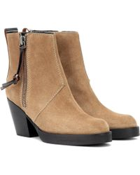 2645a3c56f19 Acne Studios Cypress Boot in Red - Lyst