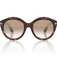 Tom Ford - Rosanna Round Sunglasses - Lyst