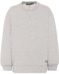 Adidas By Stella McCartney   Oversized Cotton-blend Sweater   Lyst