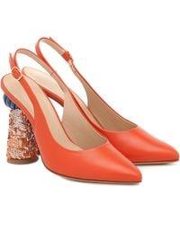 Jacquemus Salones Les Chaussures Loiza - Naranja