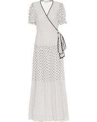 Diane von Furstenberg Breeze Maxi Wrap Dress - Natural