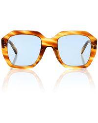 Céline - Occhiali da sole in acetato - Lyst