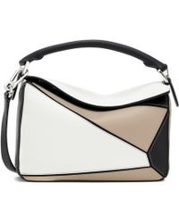 Loewe - Puzzle Small Leather Shoulder Bag - Lyst