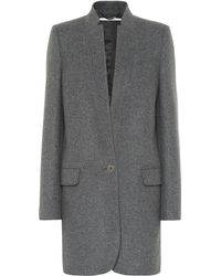 Stella McCartney Bryce Wool-blend Coat - Gray